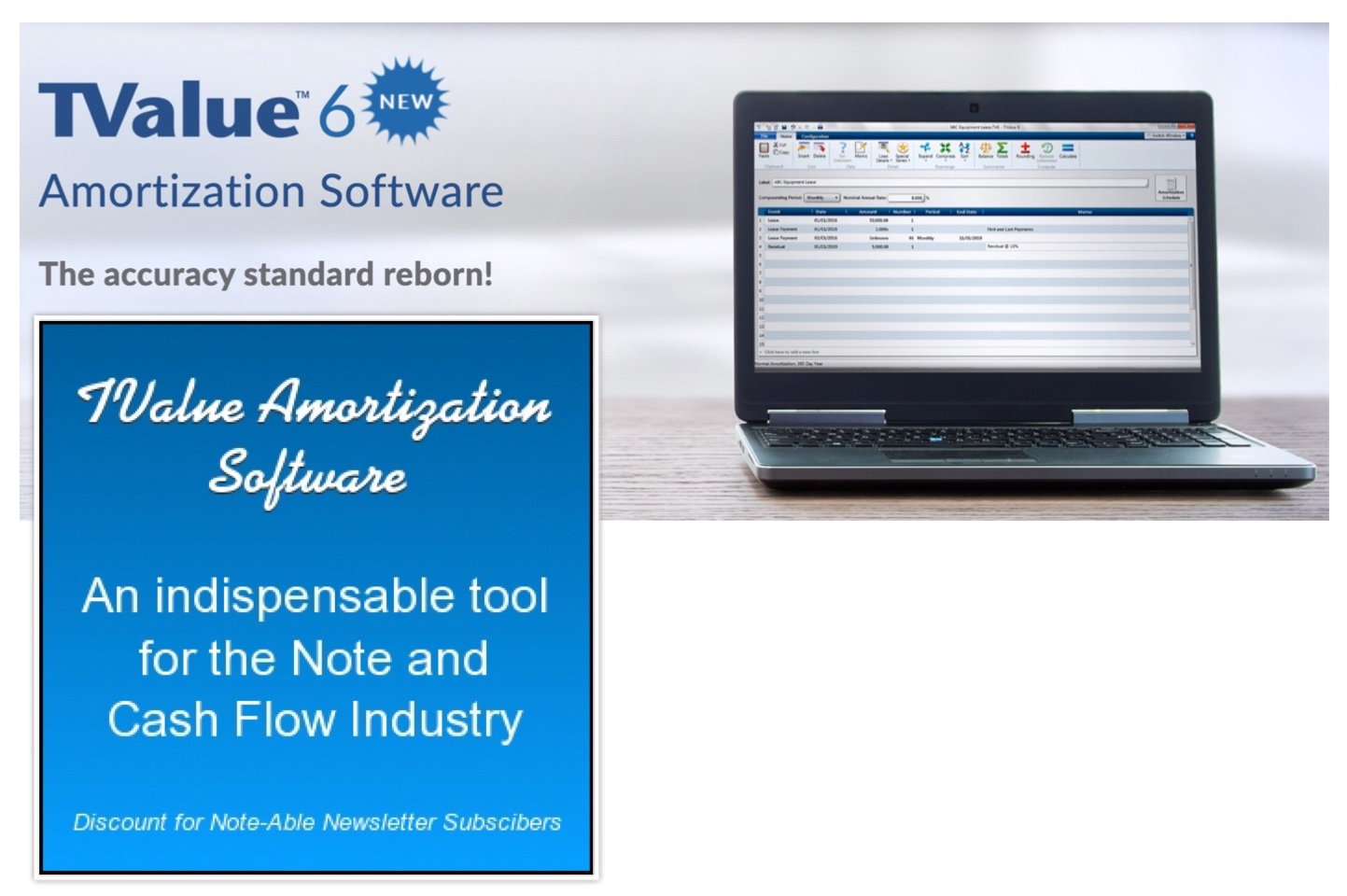 tvalue amortization software armstrong capital